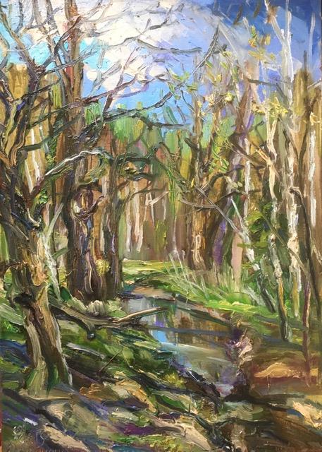 Ольга Симонова, Яркий майский день в лесу