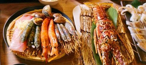 【麻辣鍋-推薦-新北】築湘養生麻辣火鍋,花雕雞鴛鴦鍋+龍蝦+和牛超浮誇