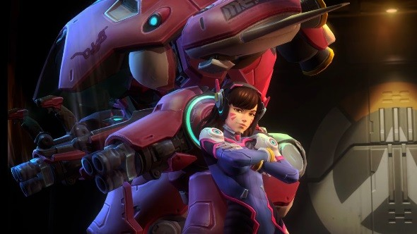 D.Va en Heroes of the Storm