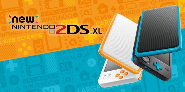 Dos colores para la New 2DS XL