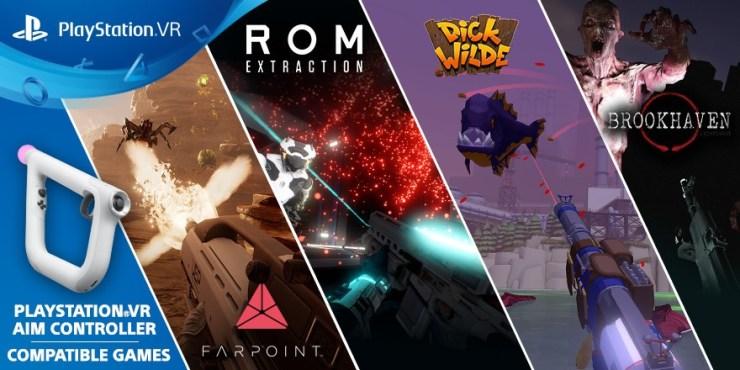 Juegos compatibles con PS VR Aim