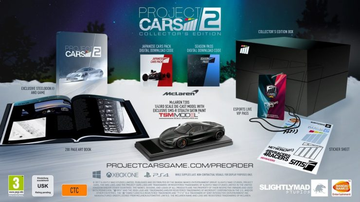 Project Cars 2 edicion Coleccionista