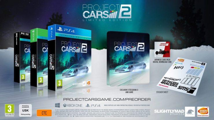 Project Cars 2 edicion Limitada