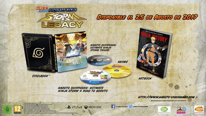 Naruto SUNS Legacy