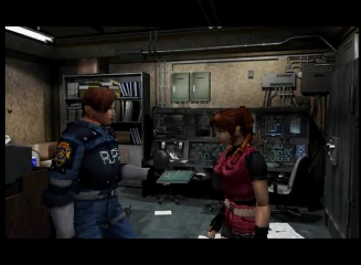 Leon S. Kennedy y Claire Redfield