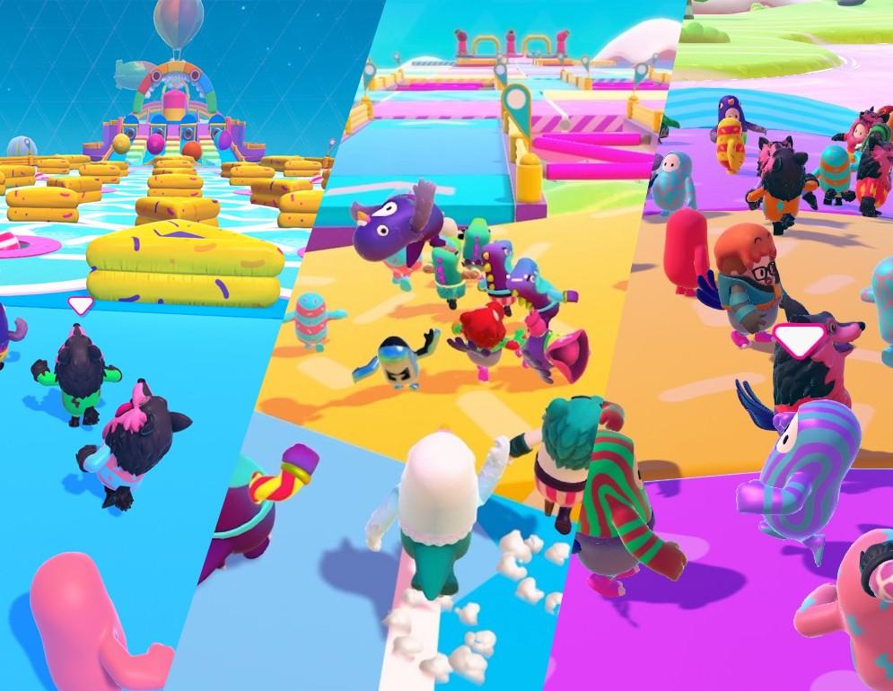 Gran variedad de escenarios en las fases de cada partida.