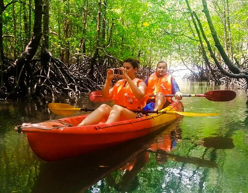 Kayak Guidé