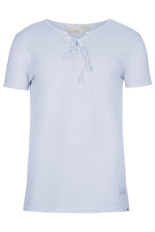 Basic Bowknot Men's T-Shirt Lila - Purple