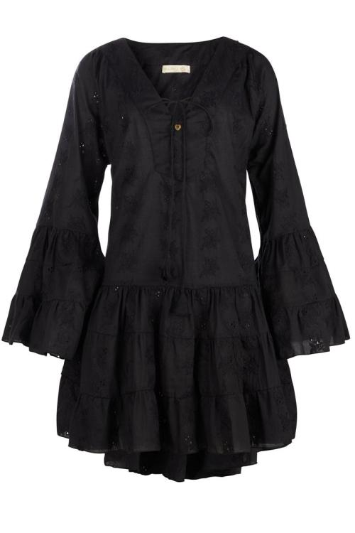 Tunic Broderie - Black