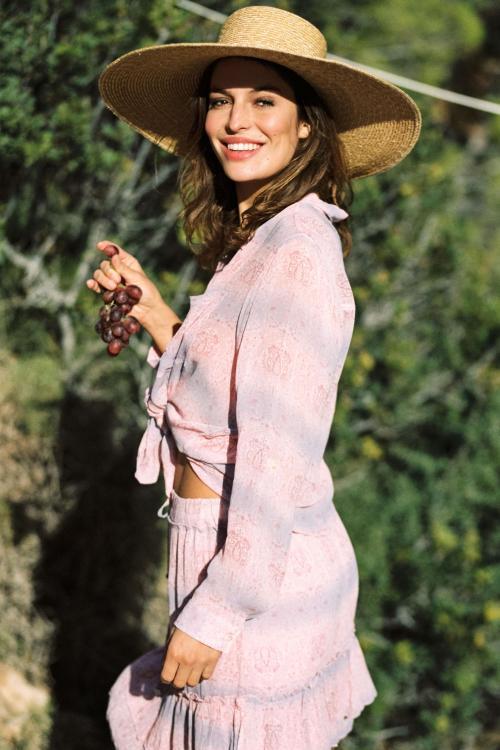 Blouse Lotus Lavender - Pink