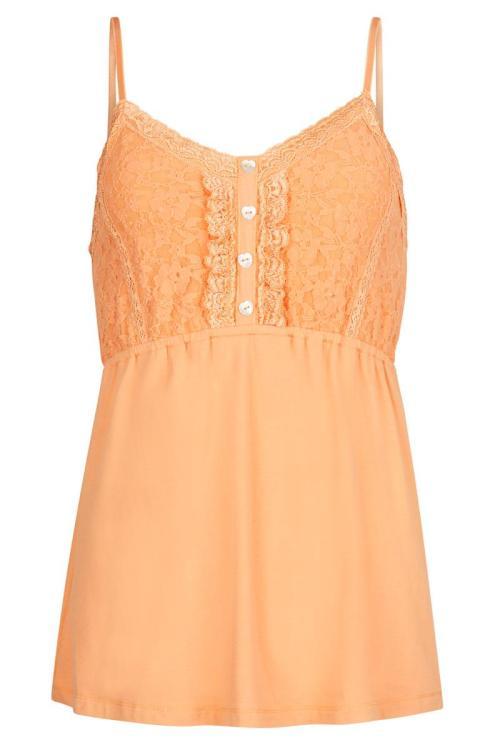 Laced Singlet Bonita - Orange
