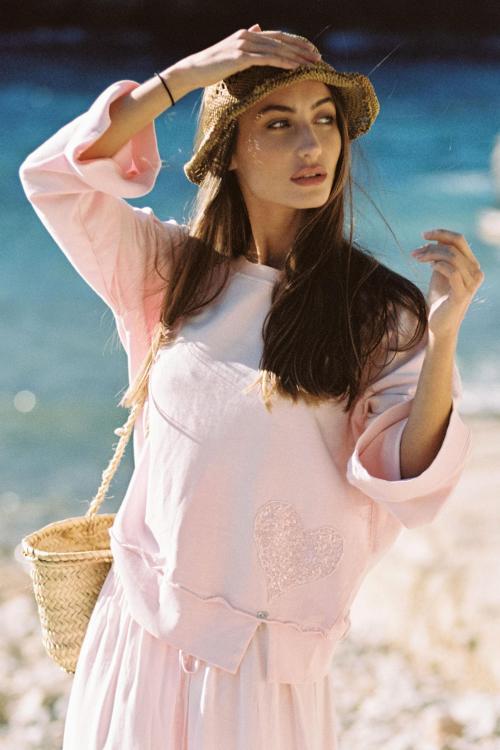 Oversized Sweater Sweety - Pink