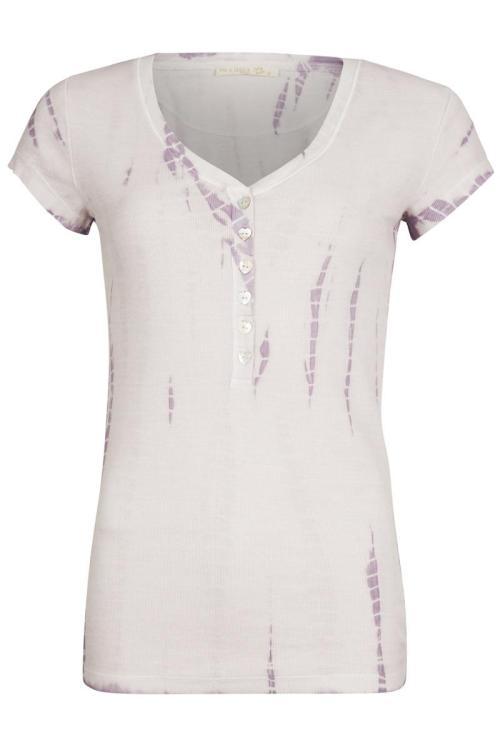 Short Sleeve Tie Dye T-Shirt Jondal - Purple