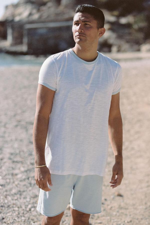 Basic Short Sleeve T'Shirt Mateu - White