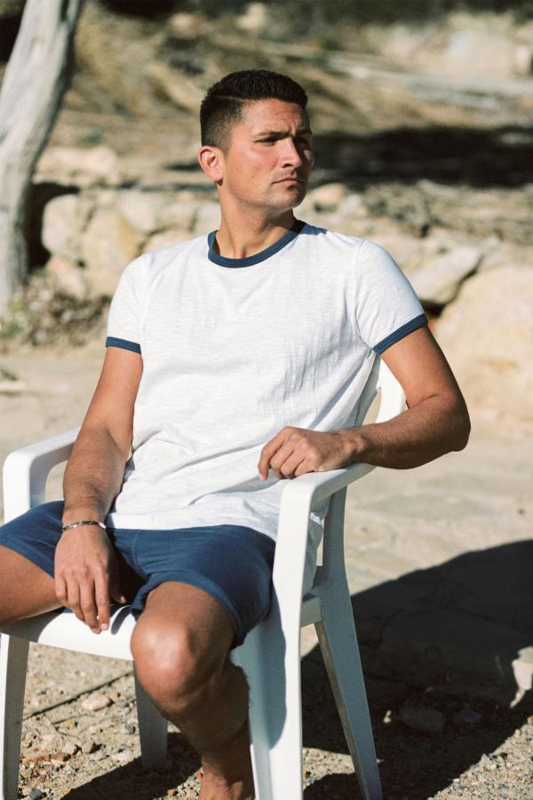 Basic Short Sleeve T'Shirt Mateu - Blue