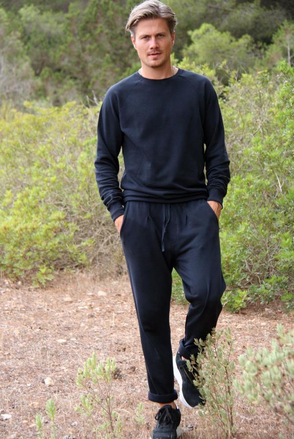 Long Chino Pants Jordi – Black