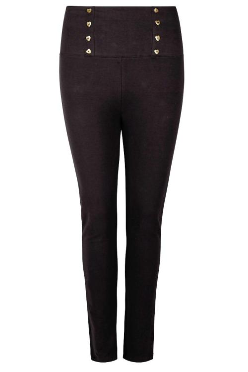 Soft Trousers Mastella - Black