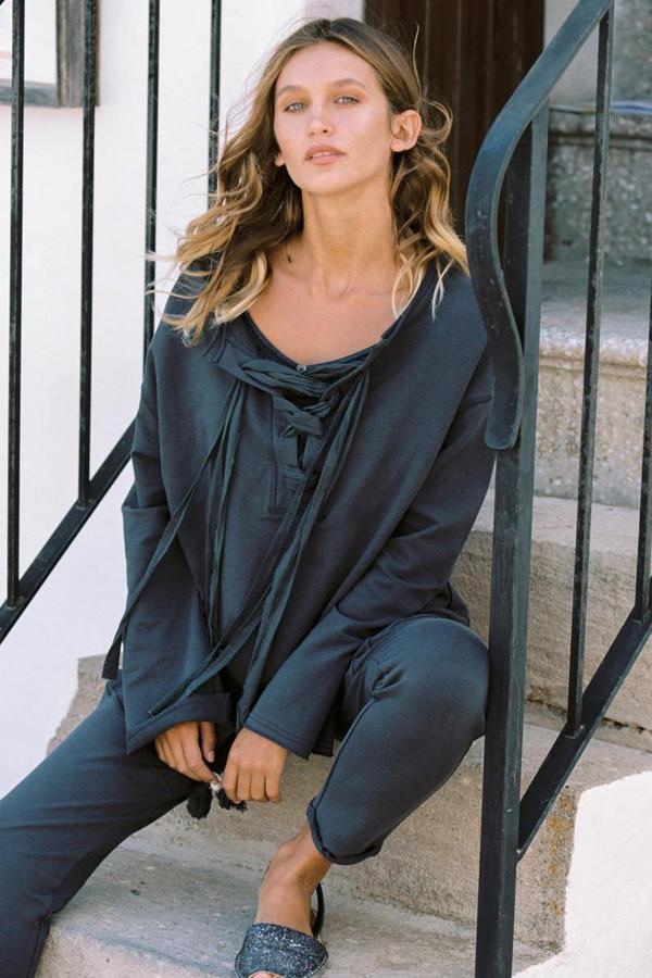 Comfy Sweater Tarida - Grey