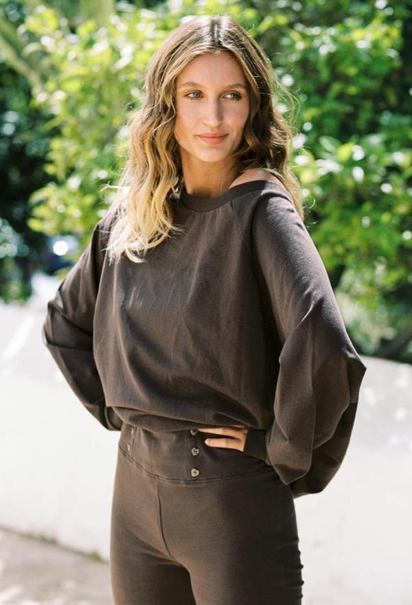 Bat Sweater Mastella - Brown
