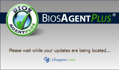BIOS Agent Plus - Splash
