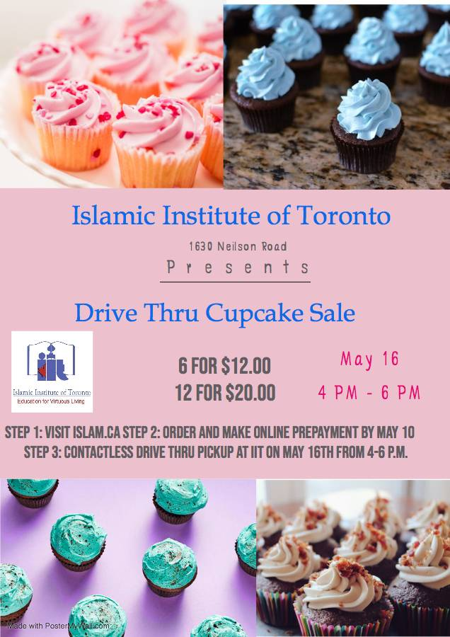 Ramadan Cupcake Sales