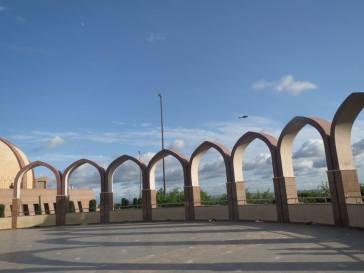 Pakistan Monument Arches
