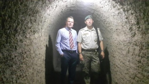 Danish Ambassador, Jesper Sorensen visits the Military College of Engineering in Risalpur, Pakistan.