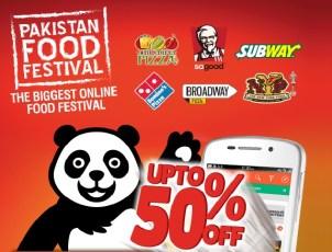 Foodpanda launches Pakistan Food Festival 2015