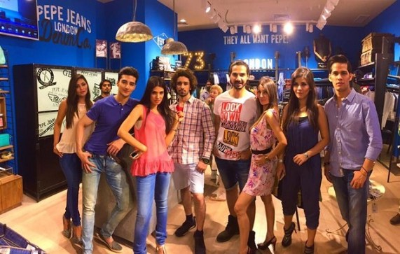 London's chic brand, Pepe Jeans, opens flagship store in Islamabad.