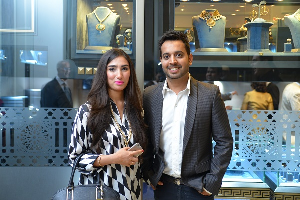 Guests at the launch of Hanif Jewellers jewelry store in Islamabad
