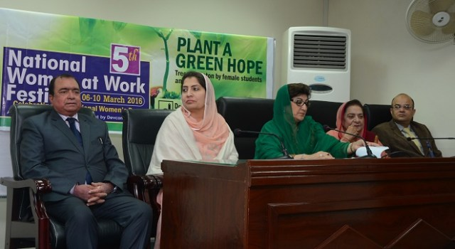 5th National Women at Work Festival kicks off in Islamabad