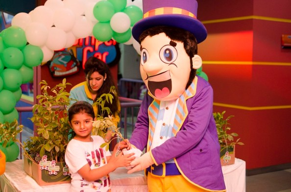 Earth Day 2016 activity held at Fun City Pakistan
