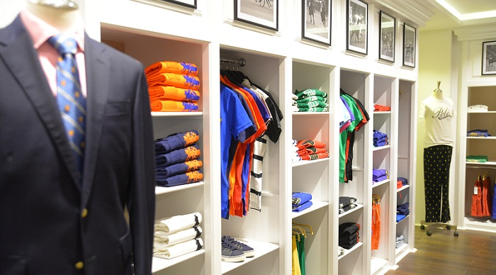 Spring and Summer 2016 collection at Polo Ralph Lauren store in Islamabad