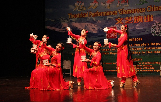 Beautiful performance by artists from Xinjiang at cultural event held at PNCA.