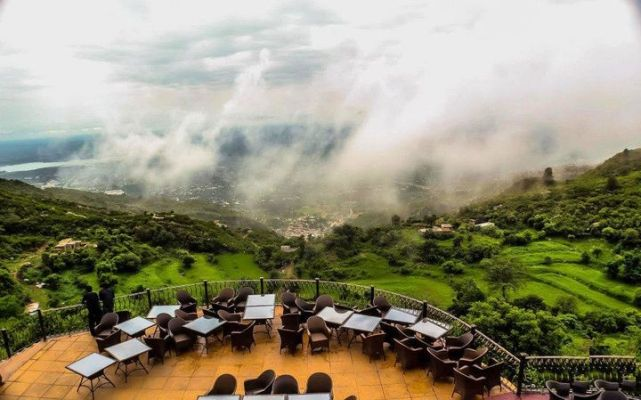 The Monal at Pir Sohawa