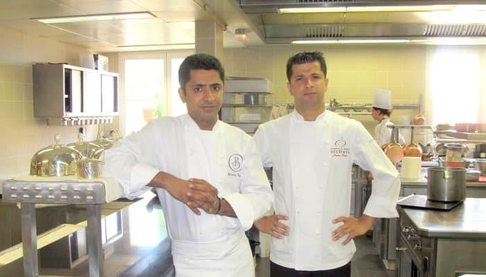 Sylvestre and Jonathan Wahid