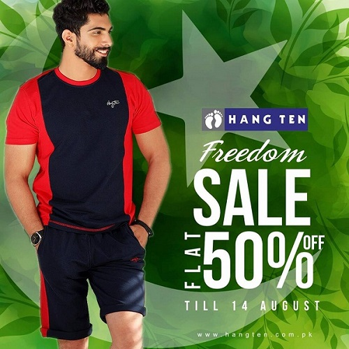 Hang Ten Independence Day sale