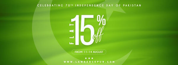 Lawerencepur Independence Day sale