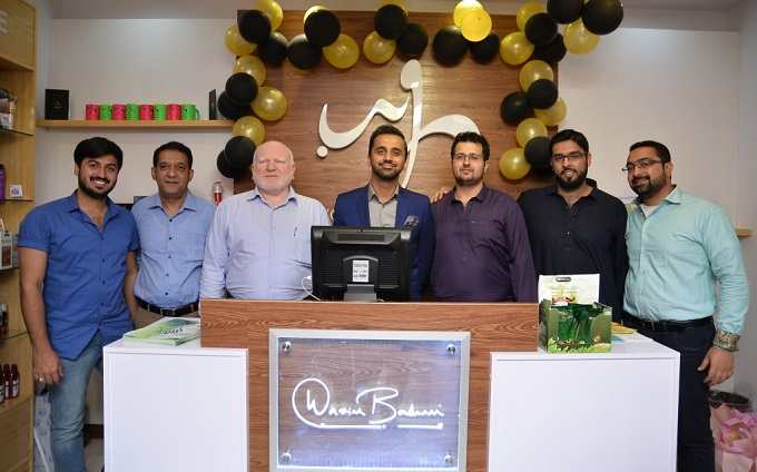 Waseem Badami launches organic beauty brand WB by Hemani in Islamabad