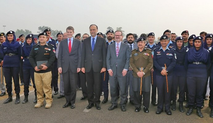 U.S. Government Provides Pakistani Police Agencies with Eleven Armored Personnel Vehicles