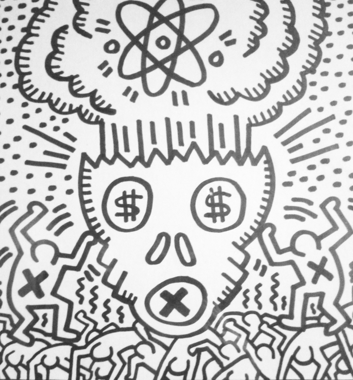 societe-consommation-keith-haring