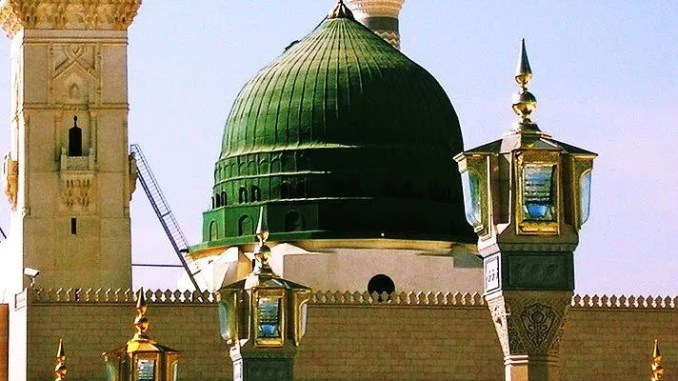 The Secret of the Green Dome of Masjid Nabawi - Islam Hashtag
