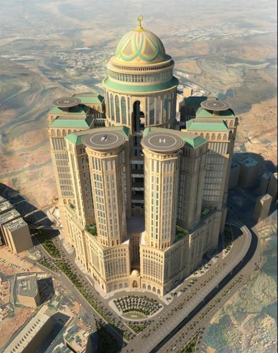 Mecca's largest hotel in world