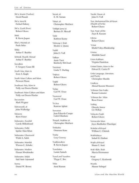 Encyclopedia of Muslim American History Review