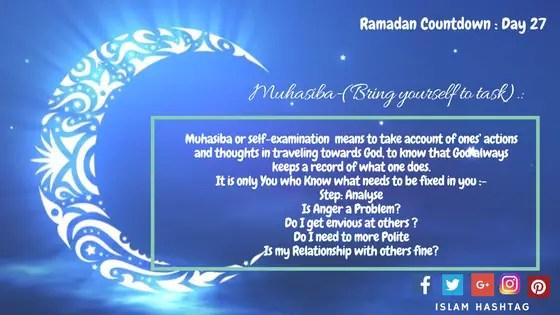 Preparing for ramadan