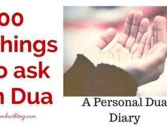 Personal Dua list