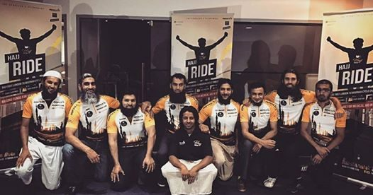 Hajj Ride 2017 : First Ever Cycle Ride for Charity from London to Madina .