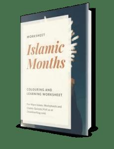 islamic months Worksheet