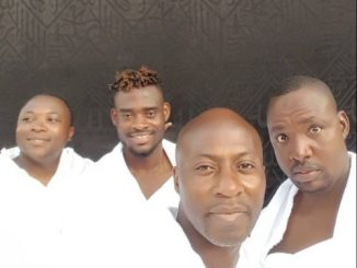 ghana footall team umrah