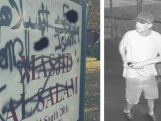 Man vandalised a mosque